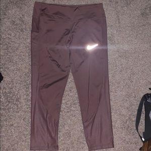Pinkish/ Mauve Nike Leggings